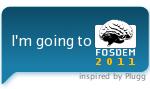 I'm going to FOSDEM