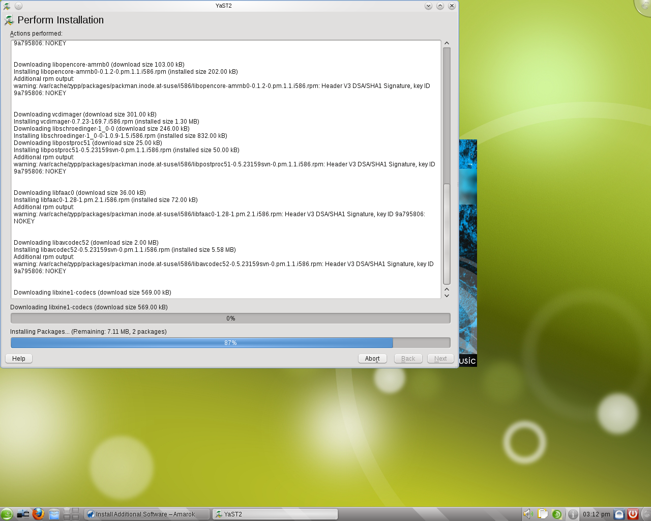 On-demand package installation in openSUSE 11 3 | blogs kde org